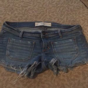 Abercrombie and Fitch denim shorts size 2 or 26